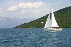 Een boot Royalty-vrije Stock Afbeeldingen