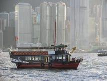 De Haven & de boot van Hong Kong Royalty-vrije Stock Fotografie