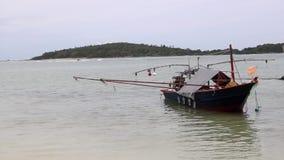 Een Boot in Thailand stock footage