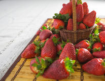 Aardbeien III stock foto