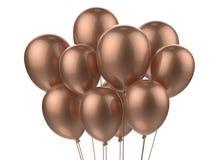 Een bos van ballons Royalty-vrije Stock Foto's