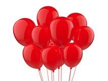Een bos van ballons Royalty-vrije Stock Foto