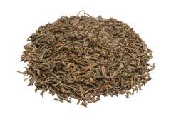 Een bos van Chinese thee Geïsoleerde Stock Afbeeldingen