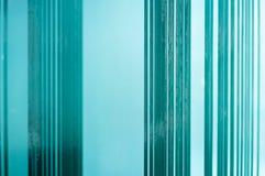 Een bos van glas stock foto's