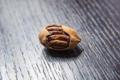 Een bos van voedzame Bigen-noten royalty-vrije stock foto