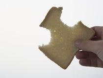 Een boterhamvorm Royalty-vrije Stock Afbeelding