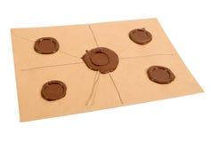 Een bovenkant - geheime doos Stock Foto