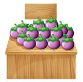 Een box met een lege raad Royalty-vrije Stock Afbeelding