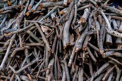 Een brandhout Royalty-vrije Stock Foto's