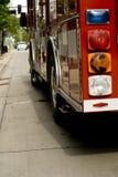 Een brandvrachtwagen Stock Foto