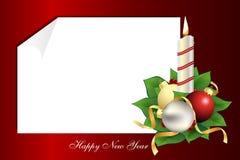 Een brief van Kerstmis Royalty-vrije Stock Foto's