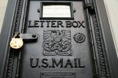 Een brievenbus Stock Afbeeldingen