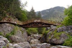 Een brug stock afbeelding