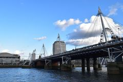 Een brug Stock Fotografie