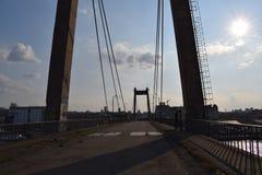 Een brug van de oude wereld Royalty-vrije Stock Foto's