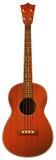 Een bruine gitaar Stock Foto's
