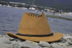 Een bruine hoed Royalty-vrije Stock Afbeeldingen