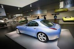 Een buitengewoon Alpha- model van Romeo Nuvola Concept op vertoning bij het Historische Museum Alfa Romeo royalty-vrije stock afbeelding