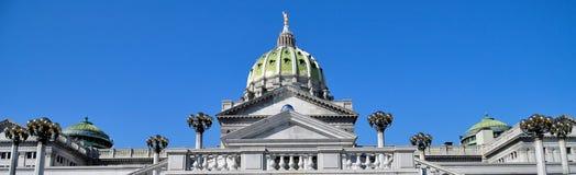 De Koepel van het Capitool van Pennsylvania Royalty-vrije Stock Foto's