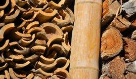 Een bundel van brandhout Royalty-vrije Stock Foto