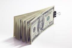 Een bundel van geld Stock Fotografie