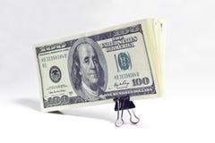 Een bundel van geld Royalty-vrije Stock Foto