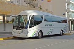 Een Bus Trip Stock Foto