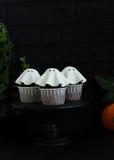 Een cake voor Halloween Stock Foto's