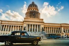 Een Capitolio in de hoofdstad van Cuba - Havana royalty-vrije stock foto's