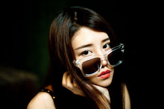 Een Chinees meisje Royalty-vrije Stock Foto