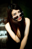 Een Chinees meisje stock afbeelding