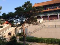 Een Chineese-pagode royalty-vrije stock afbeeldingen