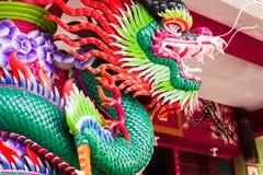 Een Chinese draak stock foto