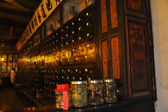 Een Chinese Drogisterij in Anhui Royalty-vrije Stock Foto