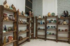 Een Chongqing Rongchang-van het het aardewerkmuseum van de aardewerkstudio steekproef van Rongchang Tao Royalty-vrije Stock Fotografie