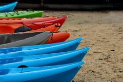 Een close-up van Canoeing Sport Royalty-vrije Stock Foto