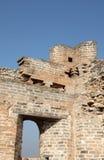 Een close-up van de Grote Muur Stock Fotografie