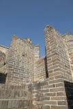 Een close-up van de Grote Muur Royalty-vrije Stock Foto