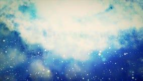 Een cluster van sterren De geboorte van sterren in nevels 14 vector illustratie