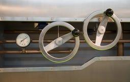 Een controlemeter met maten royalty-vrije stock fotografie