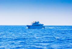 Een cruise op het overzees Royalty-vrije Stock Foto