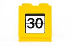 Een dag, 30 Royalty-vrije Stock Afbeeldingen