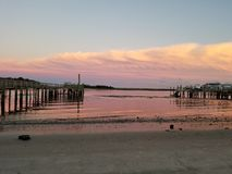 Een dag bij de kust royalty-vrije stock afbeeldingen