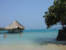 Een dag bij strand Royalty-vrije Stock Foto's