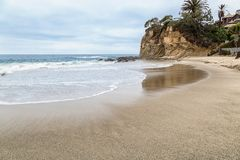 Een Dag in Laguna Beach, Californië royalty-vrije stock foto's
