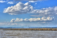 Een Dag op de Chesapeake Baai stock foto's