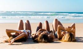 Een dag op het strand Royalty-vrije Stock Foto