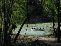 Een dag van Visserij Stock Afbeeldingen