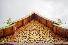Een dak van een tempel Stock Afbeelding