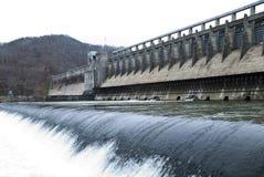Een dam royalty-vrije stock afbeelding